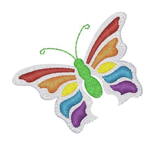 Schmetterling Rainbow Öletasche
