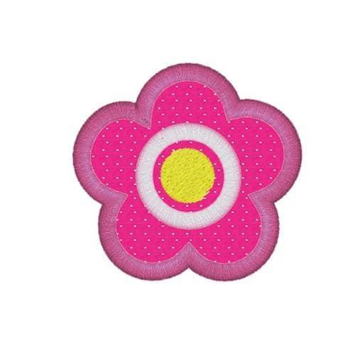 Blume Stoffappli